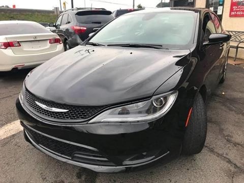 2015 Chrysler 200 for sale at Luxury Unlimited Auto Sales Inc. in Trevose PA
