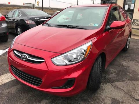 2017 Hyundai Accent for sale at Luxury Unlimited Auto Sales Inc. in Trevose PA