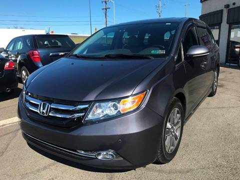 2014 Honda Odyssey for sale at Luxury Unlimited Auto Sales Inc. in Trevose PA