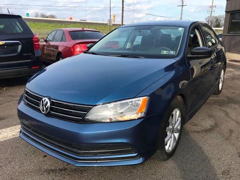 2015 Volkswagen Jetta for sale at Luxury Unlimited Auto Sales Inc. in Trevose PA