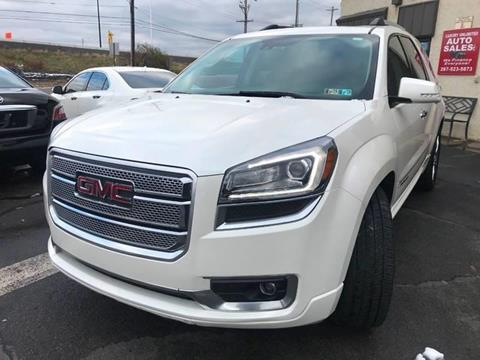 2014 GMC Acadia for sale at Luxury Unlimited Auto Sales Inc. in Trevose PA