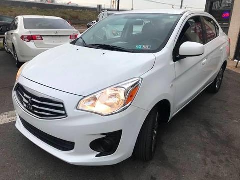 2018 Mitsubishi Mirage G4 for sale at Luxury Unlimited Auto Sales Inc. in Trevose PA
