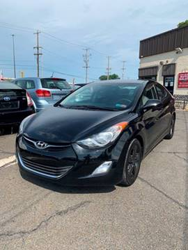 2013 Hyundai Elantra for sale at Luxury Unlimited Auto Sales Inc. in Trevose PA
