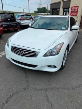 2014 Infiniti Q60 Coupe for sale at Luxury Unlimited Auto Sales Inc. in Trevose PA