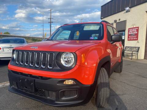 2018 Jeep Renegade for sale at Luxury Unlimited Auto Sales Inc. in Trevose PA