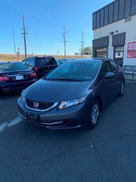 2015 Honda Civic for sale at Luxury Unlimited Auto Sales Inc. in Trevose PA