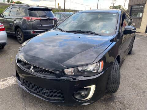 2017 Mitsubishi Lancer for sale at Luxury Unlimited Auto Sales Inc. in Trevose PA