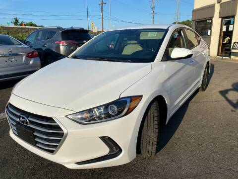 2017 Hyundai Elantra for sale at Luxury Unlimited Auto Sales Inc. in Trevose PA