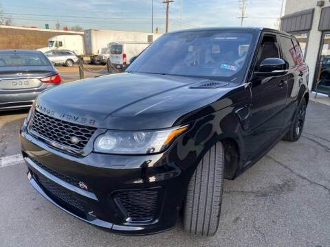 2017 Land Rover Range Rover Sport for sale at Luxury Unlimited Auto Sales Inc. in Trevose PA