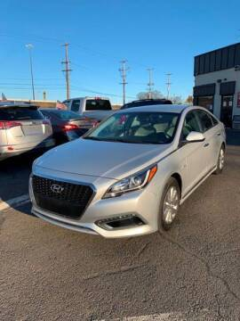 2016 Hyundai Sonata Hybrid for sale at Luxury Unlimited Auto Sales Inc. in Trevose PA
