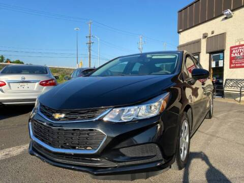 2016 Chevrolet Cruze for sale at Luxury Unlimited Auto Sales Inc. in Trevose PA