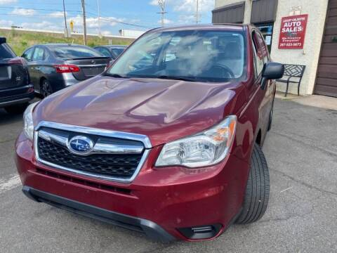 2014 Subaru Forester for sale at Luxury Unlimited Auto Sales Inc. in Trevose PA