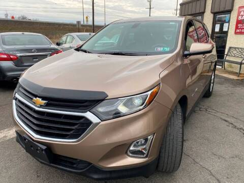 2019 Chevrolet Equinox for sale at Luxury Unlimited Auto Sales Inc. in Trevose PA