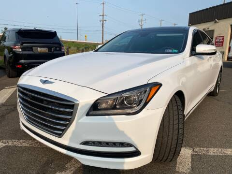 2015 Hyundai Genesis for sale at Luxury Unlimited Auto Sales Inc. in Trevose PA
