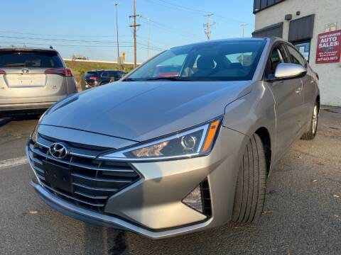 2020 Hyundai Elantra for sale at Luxury Unlimited Auto Sales Inc. in Trevose PA