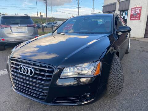 2011 Audi A8 for sale at Luxury Unlimited Auto Sales Inc. in Trevose PA