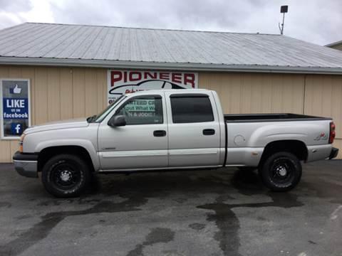 2004 Chevrolet Silverado 2500 for sale at Pioneer Auto Sales - Special Financing in Pioneer OH