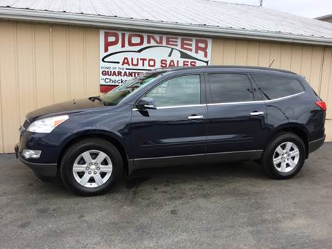 2012 Chevrolet Traverse for sale at Pioneer Auto Sales - Special Financing in Pioneer OH