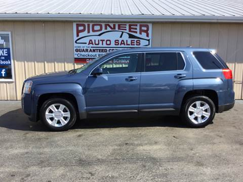 2011 GMC Terrain for sale at Pioneer Auto Sales - Special Financing in Pioneer OH