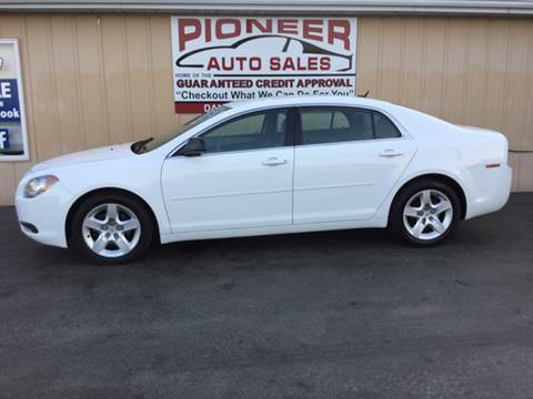 2011 Chevrolet Malibu for sale at Pioneer Auto Sales - Special Financing in Pioneer OH