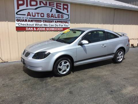 2008 Pontiac G5 for sale at Pioneer Auto Sales - Special Financing in Pioneer OH