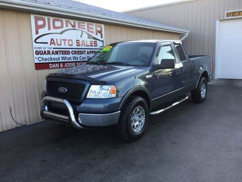 2005 Ford F-150 for sale at Pioneer Auto Sales - Special Financing in Pioneer OH