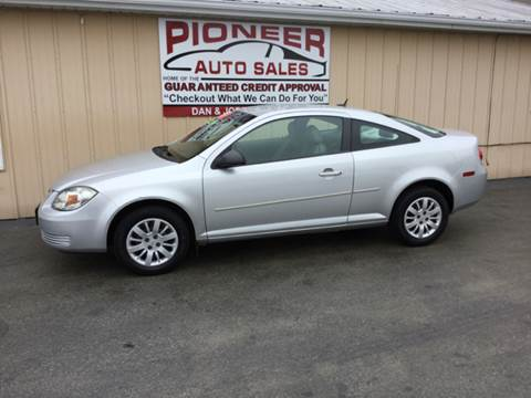 2010 Chevrolet Cobalt for sale at Pioneer Auto Sales - Cash in Pioneer OH