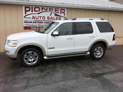 2007 Ford Explorer for sale at Pioneer Auto Sales - Cash in Pioneer OH