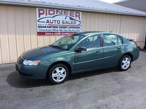 2007 Saturn Ion for sale at Pioneer Auto Sales - Cash in Pioneer OH