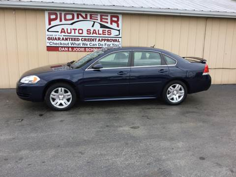 2012 Chevrolet Impala for sale at Pioneer Auto Sales - Special Financing in Pioneer OH