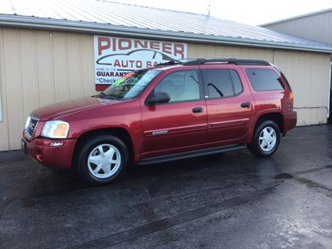2002 GMC Envoy XL for sale at Pioneer Auto Sales - Cash in Pioneer OH