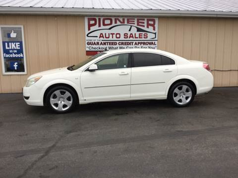 2008 Saturn Aura for sale at Pioneer Auto Sales - Cash in Pioneer OH