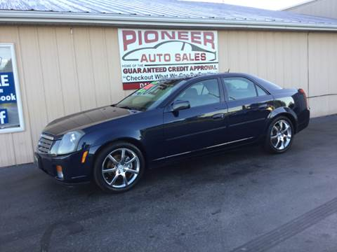 2005 Cadillac CTS for sale at Pioneer Auto Sales - Cash in Pioneer OH