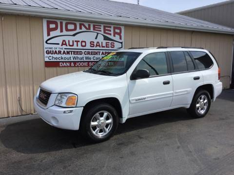 2004 GMC Envoy for sale at Pioneer Auto Sales - Special Financing in Pioneer OH