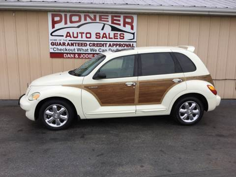2004 Chrysler PT Cruiser for sale at Pioneer Auto Sales - Cash in Pioneer OH
