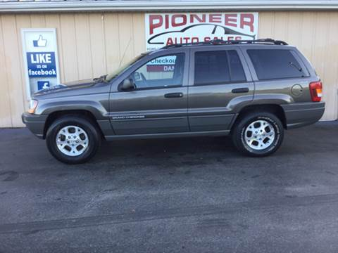 1999 Jeep Grand Cherokee for sale at Pioneer Auto Sales - Cash in Pioneer OH