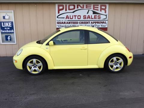 2001 Volkswagen New Beetle for sale at Pioneer Auto Sales - Cash in Pioneer OH