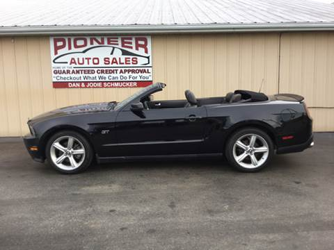 2010 Ford Mustang for sale at Pioneer Auto Sales - Cash in Pioneer OH