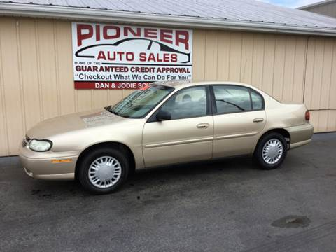 2003 Chevrolet Malibu for sale at Pioneer Auto Sales - Cash in Pioneer OH