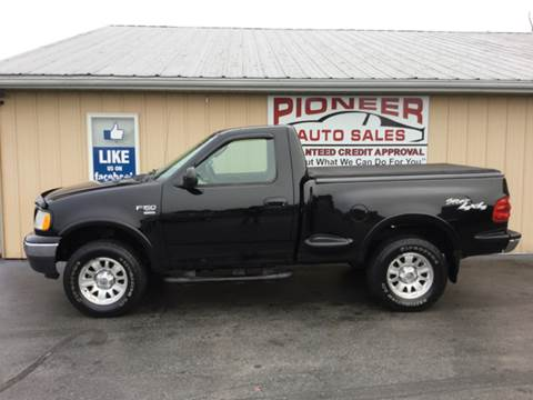 2003 Ford F-150 for sale at Pioneer Auto Sales - Cash in Pioneer OH