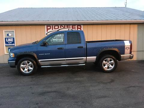 2004 Dodge Ram Pickup 1500 for sale in Pioneer, OH