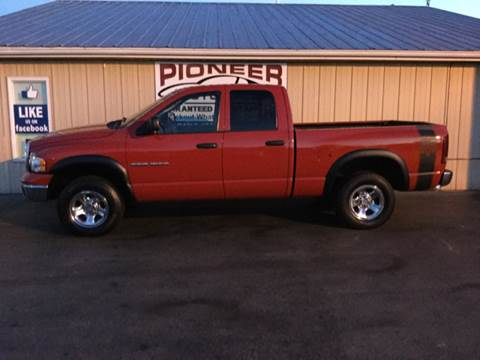 2005 Dodge Ram Pickup 1500 for sale in Pioneer, OH
