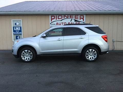 2010 Chevrolet Equinox for sale at Pioneer Auto Sales - Special Financing in Pioneer OH