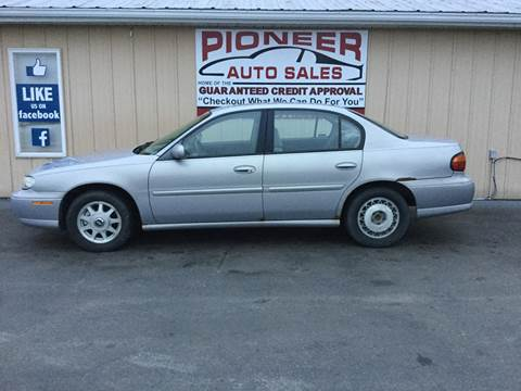 1999 Chevrolet Malibu for sale at Pioneer Auto Sales - Cash in Pioneer OH
