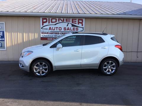 2013 Buick Encore for sale at Pioneer Auto Sales - Special Financing in Pioneer OH