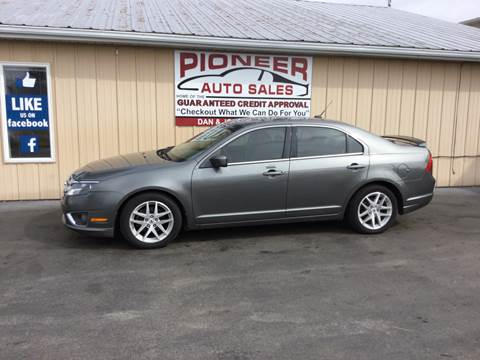 2010 Ford Fusion for sale at Pioneer Auto Sales - Cash in Pioneer OH
