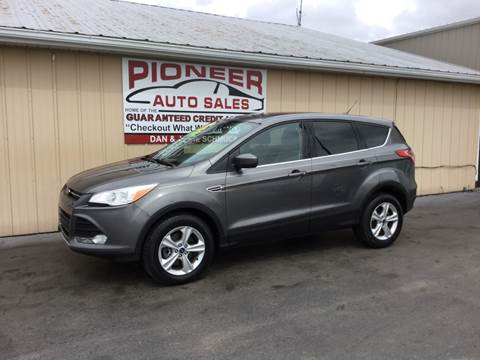 2013 Ford Escape for sale at Pioneer Auto Sales - Special Financing in Pioneer OH