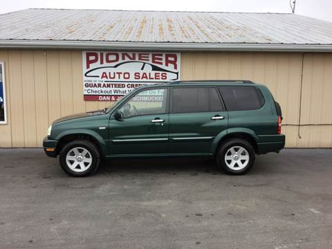 2003 Suzuki XL7 for sale at Pioneer Auto Sales - Cash in Pioneer OH