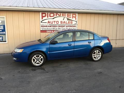 2003 Saturn Ion for sale at Pioneer Auto Sales - Cash in Pioneer OH