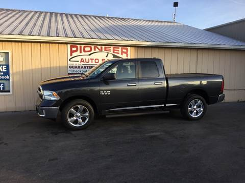 2013 RAM Ram Pickup 1500 for sale at Pioneer Auto Sales - Special Financing in Pioneer OH